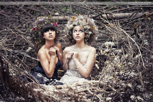 Фотосессии люди в гнездах