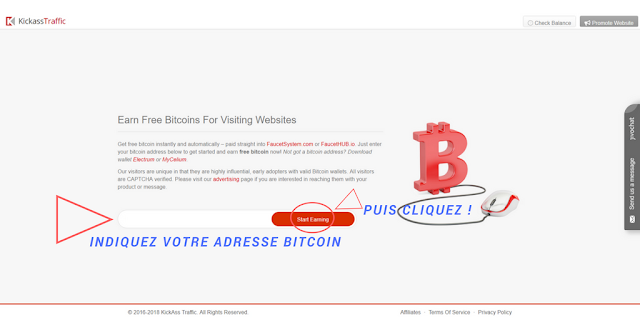 visiter le faucet bitcoin