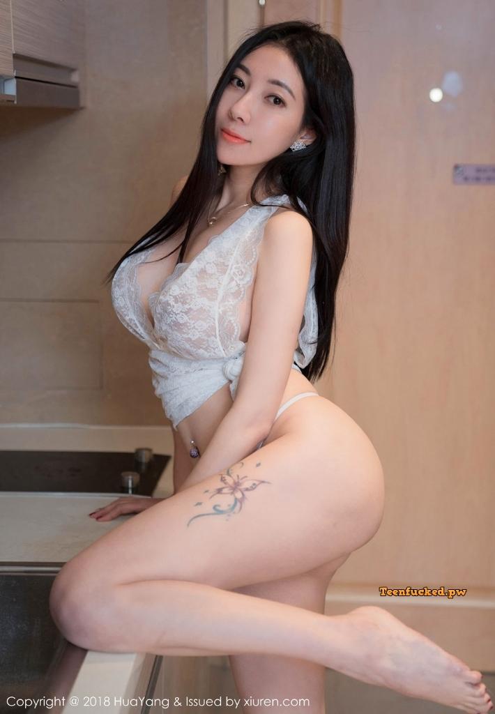 HuaYang 2018 10 23 Vol.090 Victoria Guo Er MrCong.com 033 wm - HuaYang Vol.090: Người mẫu Victoria (果儿) (43 ảnh)