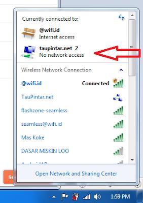 Cara Share Wifi id Menggunakan CMD di Windows 10