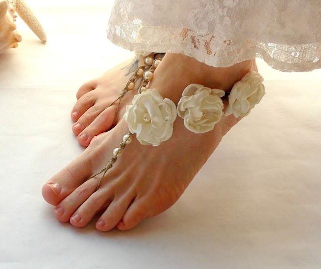 Alemania modelo pies sandalias de los pies 2