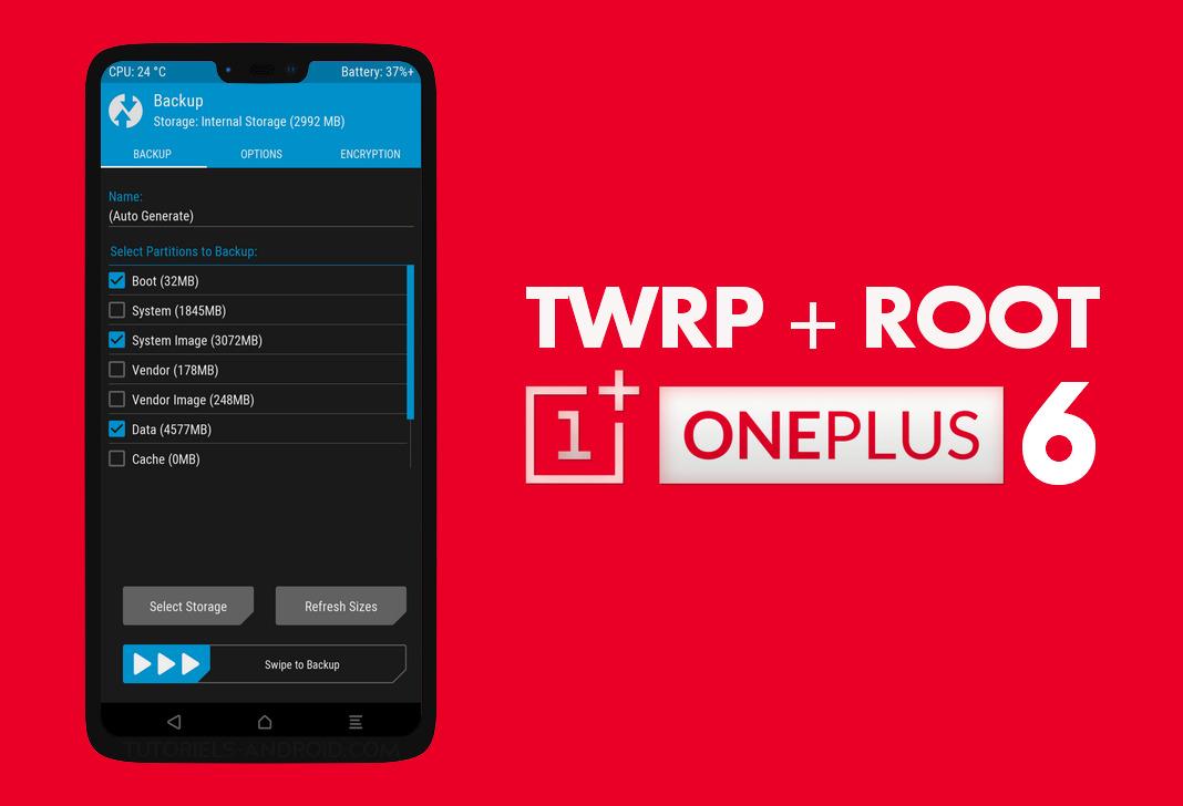 TWRP OnePlus 6 : Ouvrir une fenêtre de commandes