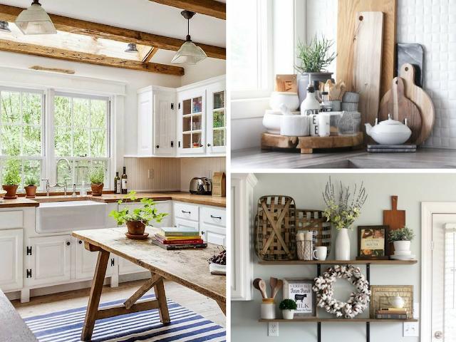A tendência de decoração - Cozinhas Rústicas