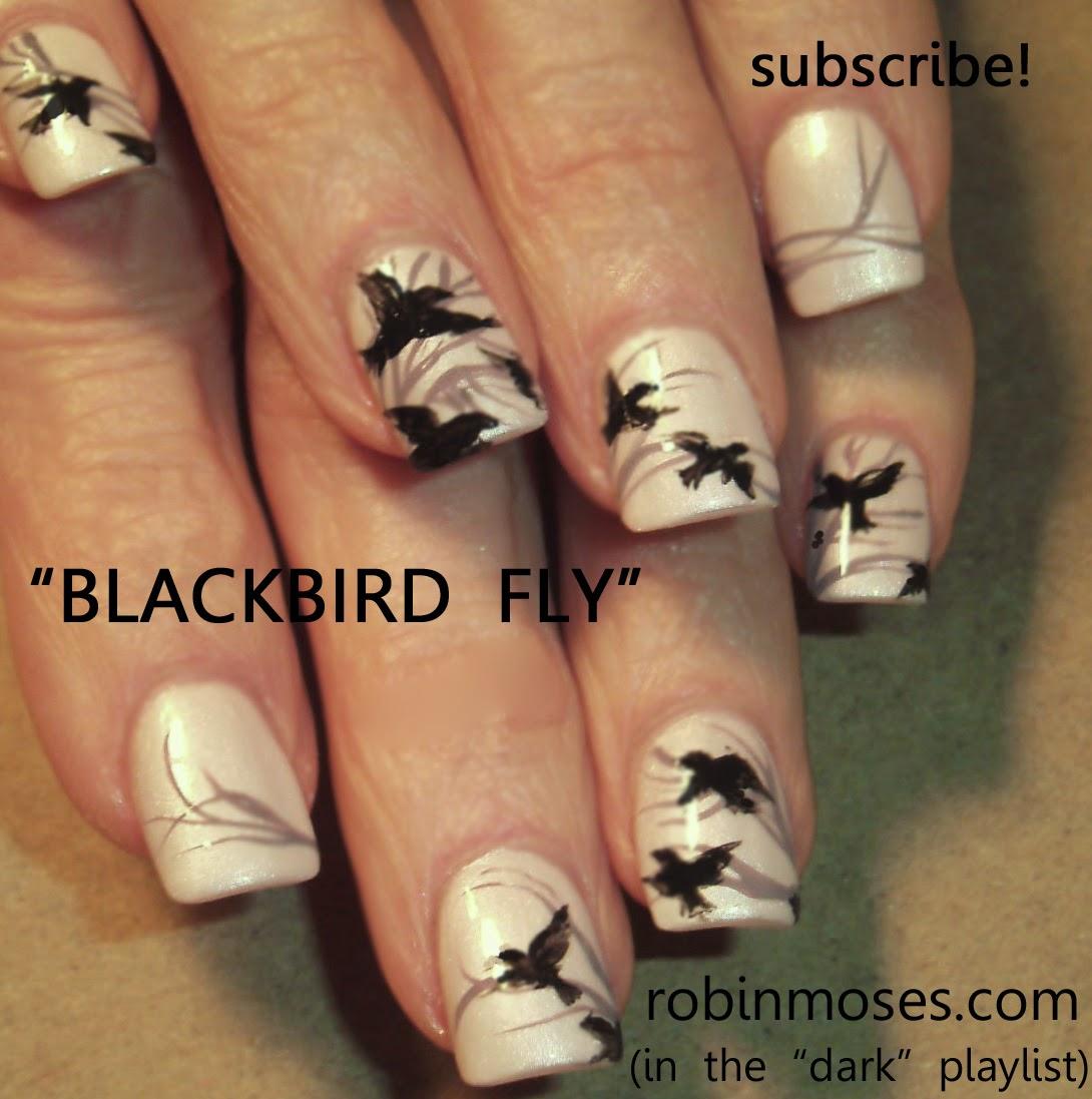 """Robin Moses Nail Art: """"bird Nails"""" """"bird Nail Art"""" """"love"""