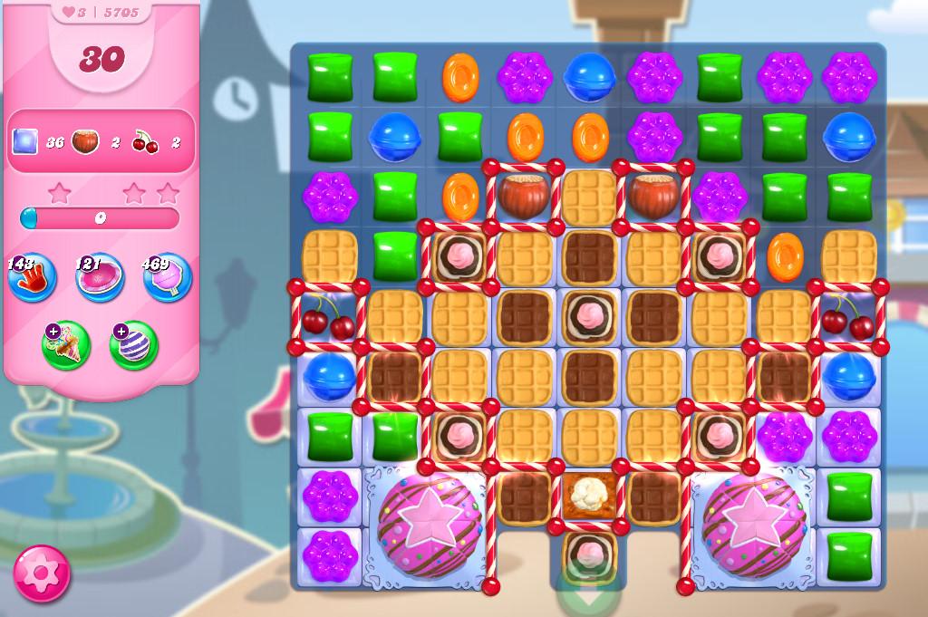 Candy Crush Saga level 5705