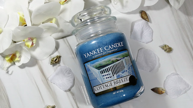 avis bougie cottage breeze yankee candle - blog bougie - blog parfum
