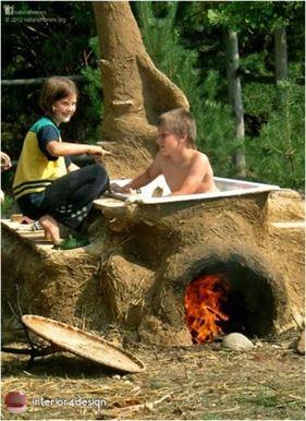 Natural Bathtubs - 10 Fantastic Nature-Inspired Bathtub Design Ideas