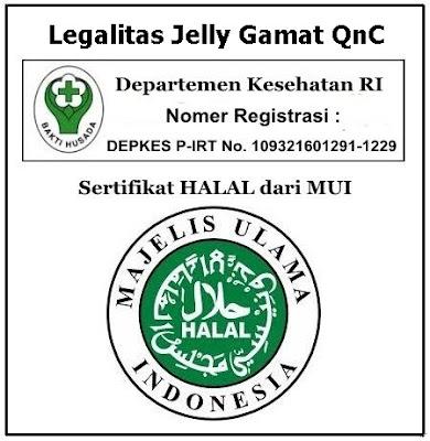 Legalitas Jelly Gamat QnC