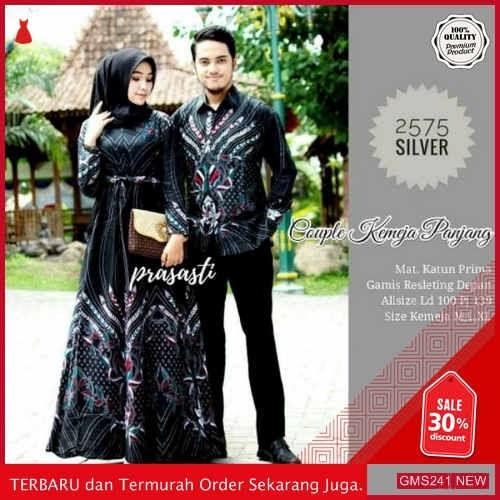 GMS241 0FLBT241B60 Baju Batik Couple Modern Monalisa Dropship SK0531657344
