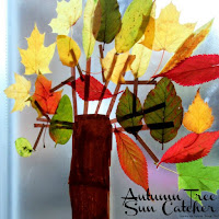 Autumn Leaf Suncatcher