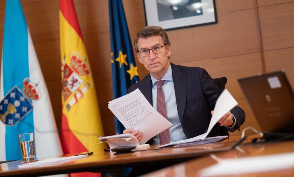 Begoña Vila analiza las ayudas a pequeños empresarios en Galicia
