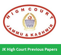 JK High Court Previous Papers