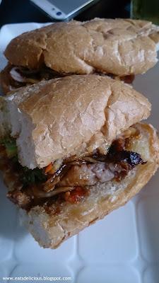 vina trang vietnamese cuisine roasted pork banhmi