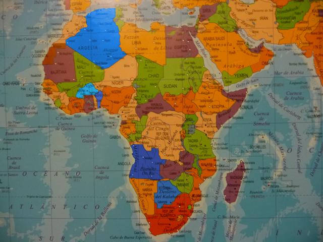 Menú de África