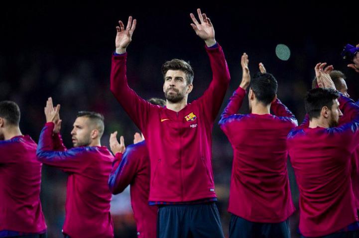 Pique Akui Tidak Puas Walau Barcelona Kalahkan Valladolid