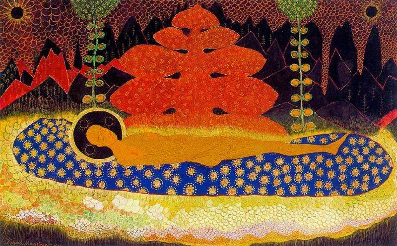 Epitáfio - O Sudário de Cristo - Kasimir Malevich e suas pinturas com elementos geométricos abstratos