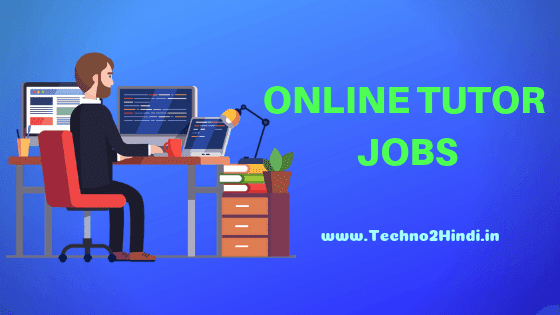 Top Online totor jobs Sites
