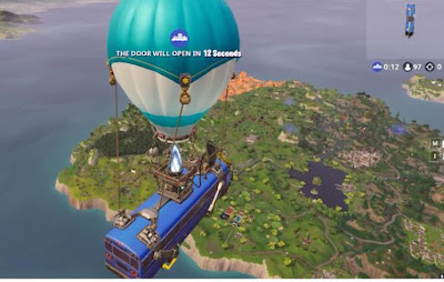 Fortnite BR, Getaway Mode, Land Bus, Map