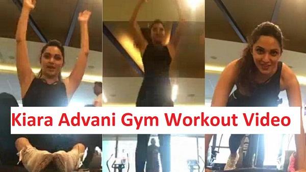 Kiara Advani Gym Workout Video
