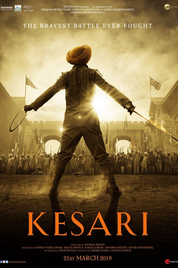 Kesari 2019 Hindi NEW 720p Pre-DVDRip x264 1.2GB No Watermark