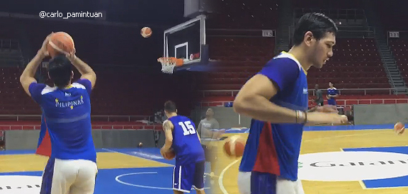 June Mar Fajardo does his best LeBron James impersonation (VIDEO)