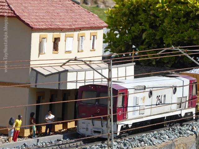 Tren de mercancías FGC Cataluña en Miniatura - Catalonia Miniature