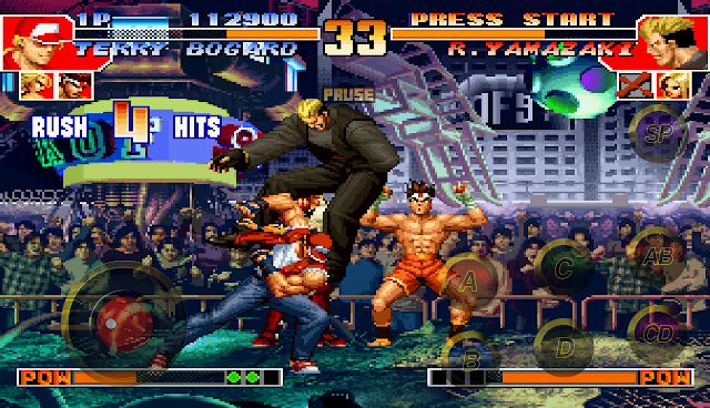 THE KING OF FIGHTERS '98 APK 1.4 + Datos SD