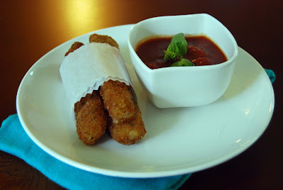 Mozzarella Sticks | by Life Tastes Good are homemade, double breaded, and delicious! #appetizer #snack #Italian