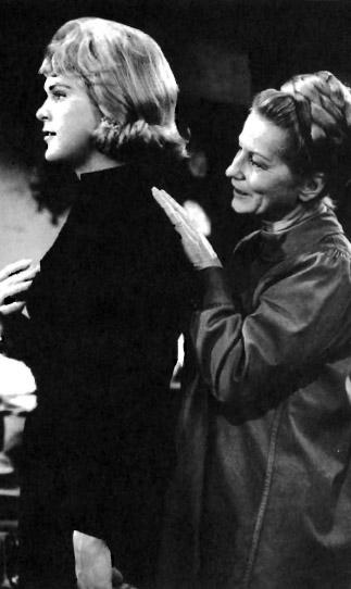 John Hansen (left) in the 1970 film The Christine Jorgensen Story