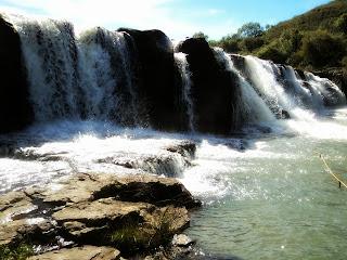 Primeira Cachoeira do Parque das Cachoeiras Vera Tormenta, em Vacaria