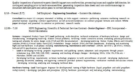 aerospace engineer resume format in word free download
