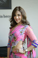 Actress Angela Krislinzki in Pink Saree Blouse Exclusive Pics March 2017 ~  121.JPG