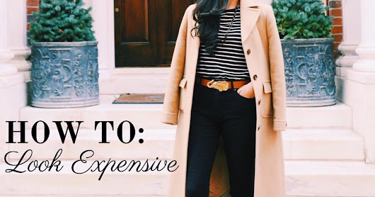 Guest Post: How to Look Expensive Without Branded Item