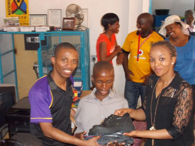 Bosele-Dawn Drop-In Centre - Hollywoodbets Donation School Shoes Uniforms