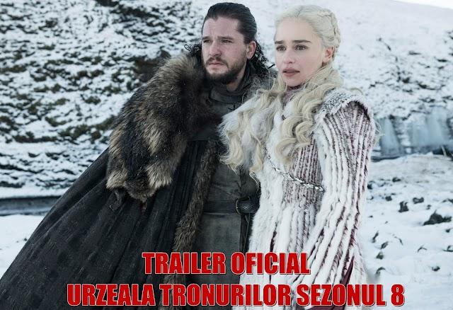 Trailer nou Urzeala Tronurilor lansat de HBO