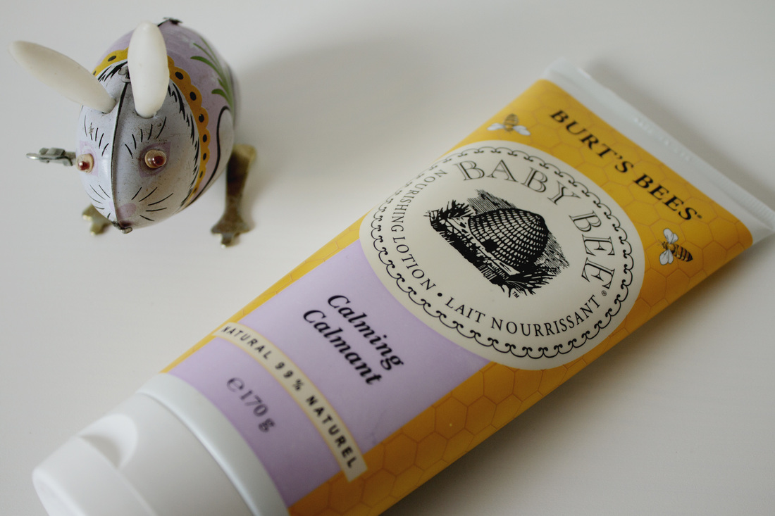 Burt's Bees calming lotion for baby