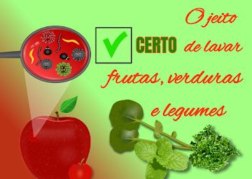 O jeito certo de lavar frutas, verduras e legumes em 4 etapas