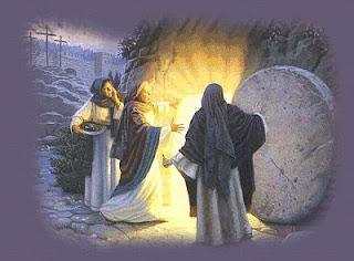 Resultado de imagen para Al tercer día el sepulcro estaba vacío : no estaba el cuerpo de Cristo.