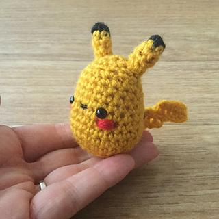 Ravelry: Pikachu pattern by Katie O | 320x320