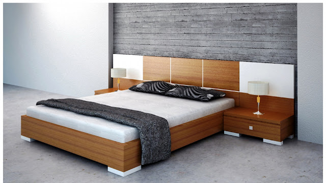 Mẫu giường ngủ chắc chắn, giường đẹp, chất liệu cứng cáp