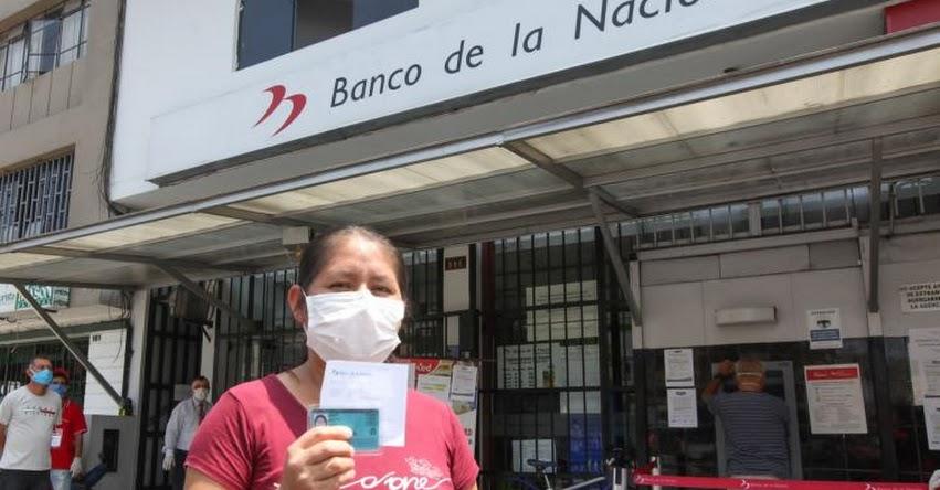 BONOS SOCIALES: Cobro de beneficio económico es hasta el 9 de julio