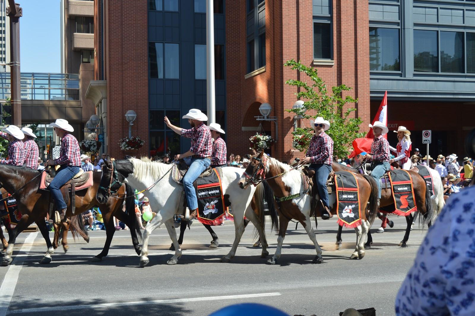 A Fun Morning At The Calgary Stampede Parade Vintage