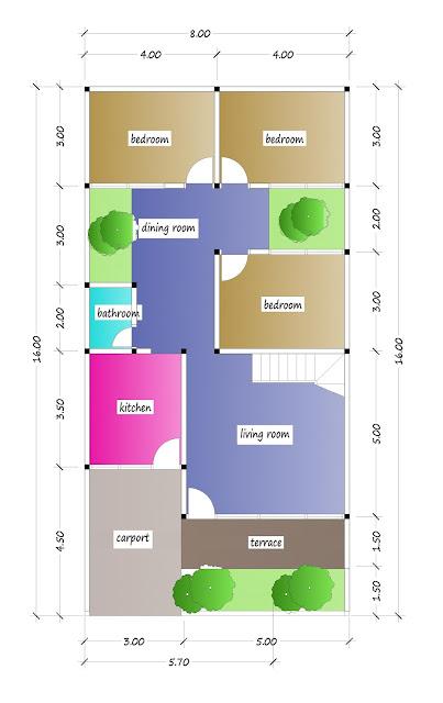 1st floor plan of beautiful house plan 31