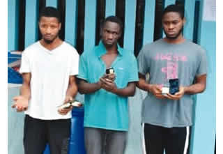 Three Friends Arrested For Robbery & R*ping A Young Lady