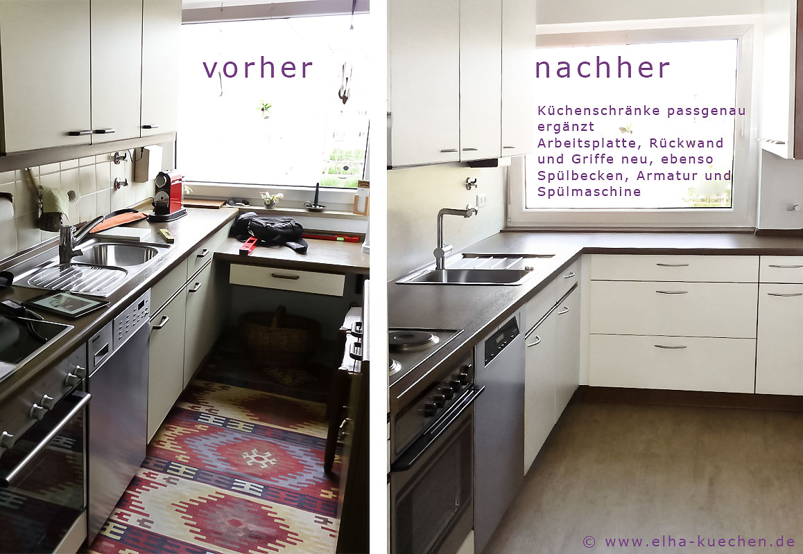 küchenschränke streichen oder bekleben   alte küche bekleben oder