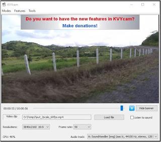 برنامج, مميز, لتسجيل, فيديوهات, بواسطة, كاميرا, الويب, KVYcam, اخر, اصدار