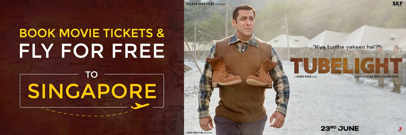 Book Tubelight Movie Tickets at Paytm