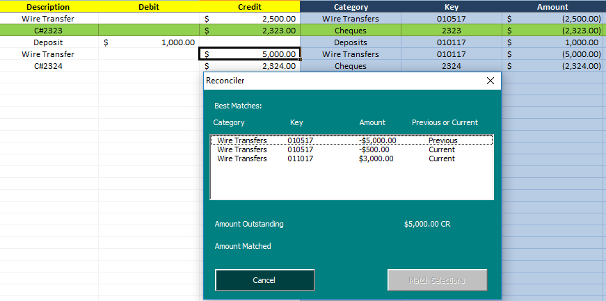 Bank Reconciliation Template: Automate and Easily Reconcile ...