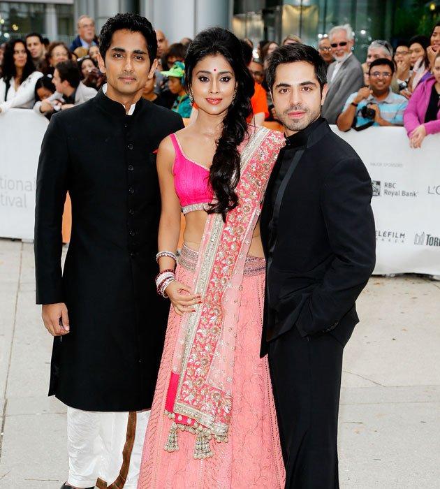 Shriya Saran Latest Photos In a Pink Dress