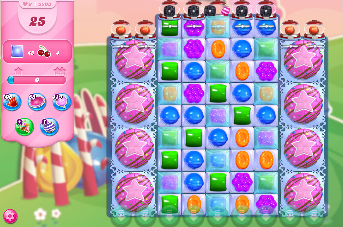 Candy Crush Saga level 5203